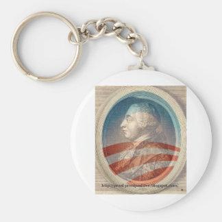 King George Obama III Key Chain