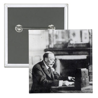 King George V 2 Inch Square Button