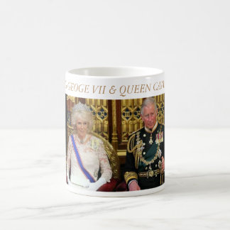 King George VII and Queen Camilla Coffee Mug