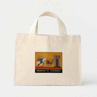 King Godrey Attacking Salehadin Totebag Mini Tote Bag