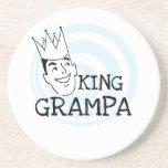 King Grampa T-shirts and Gifts Beverage Coasters