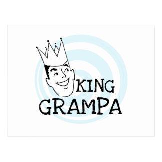 King Grampa T-shirts and Gifts Postcard