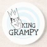 King Grampy Tshirts and Gifts Drink Coasters