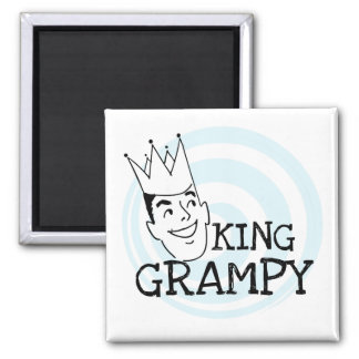 King Grampy Tshirts and Gifts Magnet