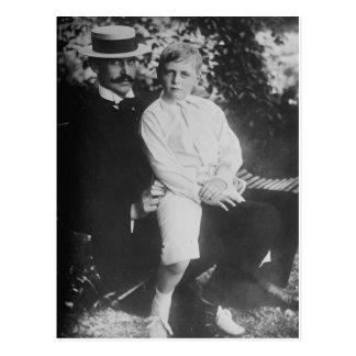 King Haakon and Prince Olav of Norway Postcards