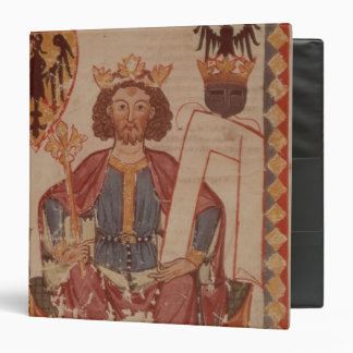 King Henry, illustration from the Manasse 3 Ring Binder
