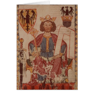 King Henry, illustration from the Manasse Greeting Card