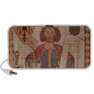 King Henry, illustration from the Manasse Notebook Speakers