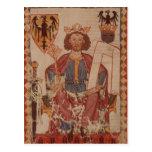 King Henry, illustration from the Manasse Postcard