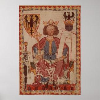 King Henry, illustration from the Manasse Poster
