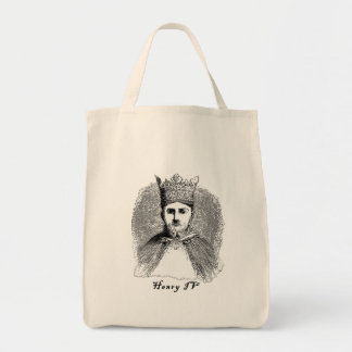 King Henry IV Portrait on Tshirts and Gifts Tote Bag