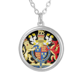 KING HENRY THE EIGHTH COAT OF ARMS PERSONALIZED NECKLACE