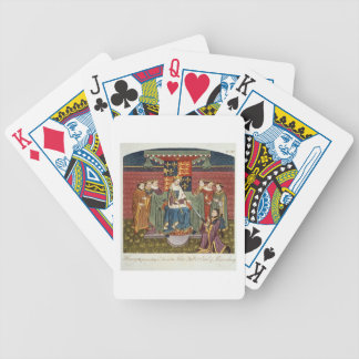 King Henry VI (1421-71) presenting a sword to John Bicycle Playing Cards