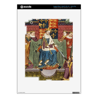 King Henry VI (1421-71) presenting a sword to John Decals For iPad 3