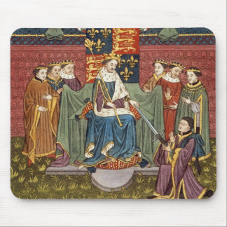 King Henry VI (1421-71) presenting a sword to John Mouse Pad