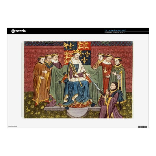 "King Henry VI (1421-71) presenting a sword to John Skins For 15"" Laptops"