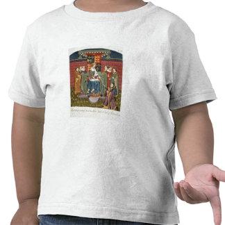 King Henry VI (1421-71) presenting a sword to John Tee Shirt