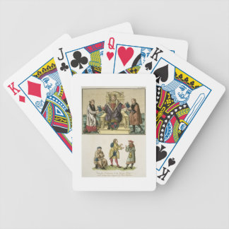 King Henry VIII (1491-1547) from the frontispiece Bicycle Playing Cards