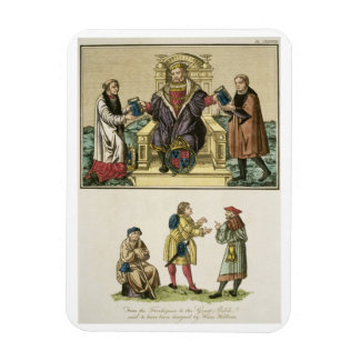 King Henry VIII (1491-1547) from the frontispiece Rectangular Photo Magnet