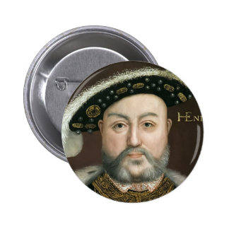 King Henry VIII 2 Inch Round Button