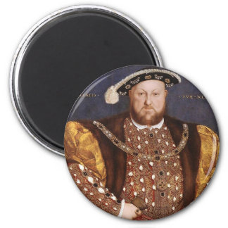 King Henry VIII 2 Inch Round Magnet