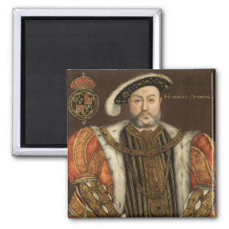 King Henry VIII 2 Inch Square Magnet