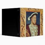King Henry VIII 3 Ring Binders
