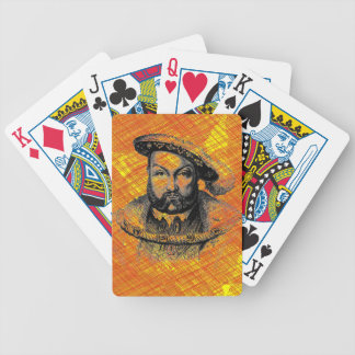 King Henry VIII Bicycle Playing Cards