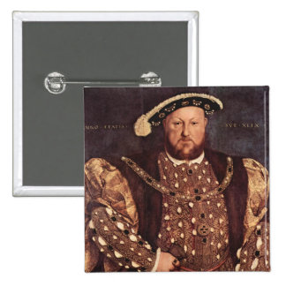 King Henry VIII Button