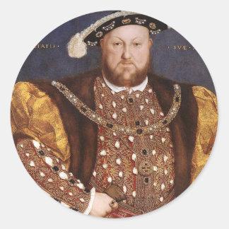 King Henry VIII Classic Round Sticker
