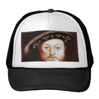 King Henry VIII Mesh Hats
