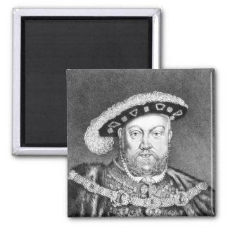 King Henry VIII  illustration Fridge Magnet