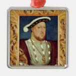 King Henry VIII Metal Ornament
