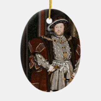 King Henry VIII of England Ceramic Ornament