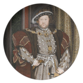 King Henry VIII of England Plate