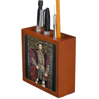 King Henry VIII Portrait Pencil/Pen Holder
