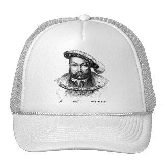 King Henry VIII Portrait Tshirts, Tote Bags Trucker Hat