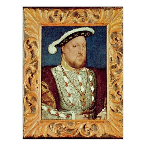 King Henry VIII Postcard
