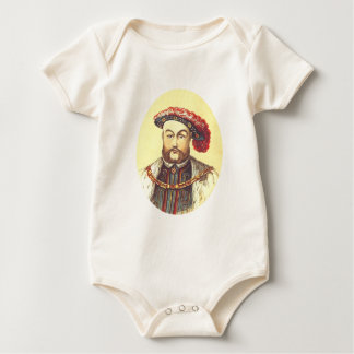 King Henry VIII, the Eight, 8th Baby Bodysuit
