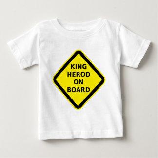 King Herod on Board Baby T-Shirt