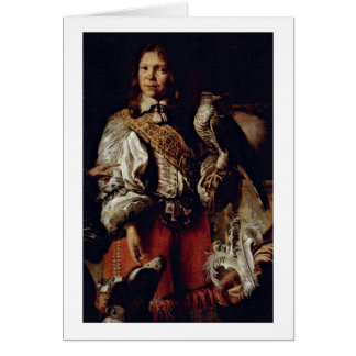 King In French Costume By Daniel Schultz Younger Greeting Card
