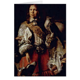 King In French Costume By Daniel Schultz Younger Card