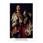 King In French Costume By Daniel Schultz Younger Post Card