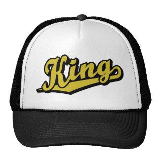 King in Gold Trucker Hat