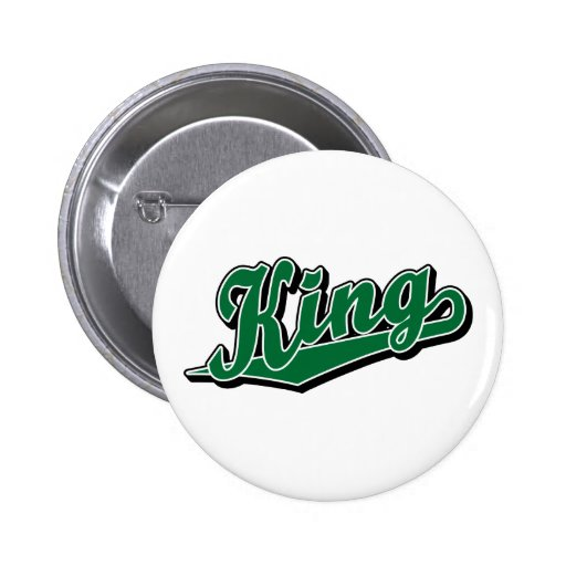 King in Green Pins