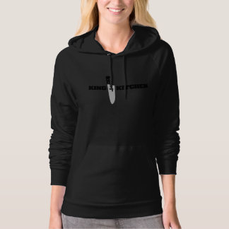 King in the Kitchen Vertical Chef's Knife Hoodie