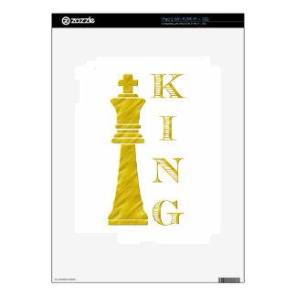 King iPad 2 Decals