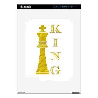 King iPad 3 Decal