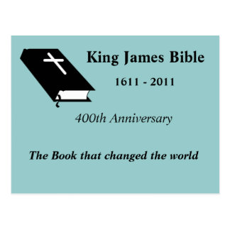 King James Bible 400th Anniversary Post Cards