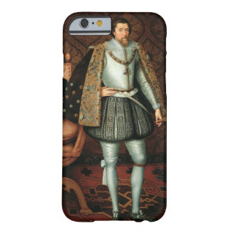 King James I of England (1566-1625) (oil on canvas Barely There iPhone 6 Case